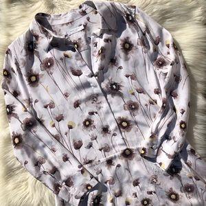 Equipment Natalia Floral Shirtdress